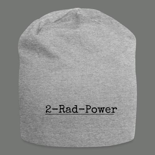 2-Rad-Power Schwarz logo - Jersey-Beanie