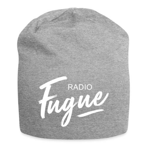 Radio Fugue Blanc - Bonnet en jersey