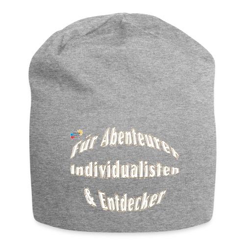 Abenteuerer Individualisten & Entdecker - Jersey-Beanie