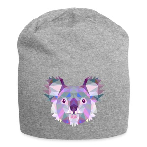 Triangle vector koala - Beanie in jersey