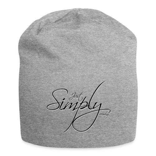 Just Simply Accessory Black - Jersey-Beanie