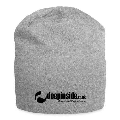 DEEPINSIDE World Reference logo black - Jersey Beanie