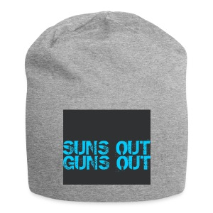 Felpa suns out guns out - Beanie in jersey