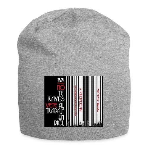 041 Hacer las paces - Gorro holgado de tela de jersey