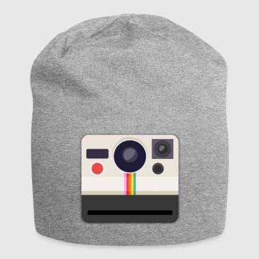 Polaroid camera retro - Jersey Beanie
