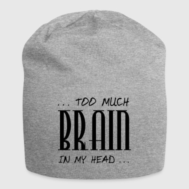 for meget Brain - Jersey-Beanie