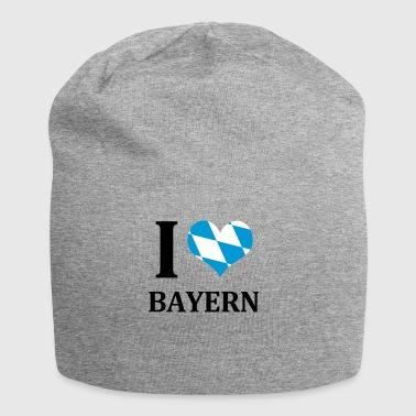 Jeg elsker Bayern - Jersey-beanie