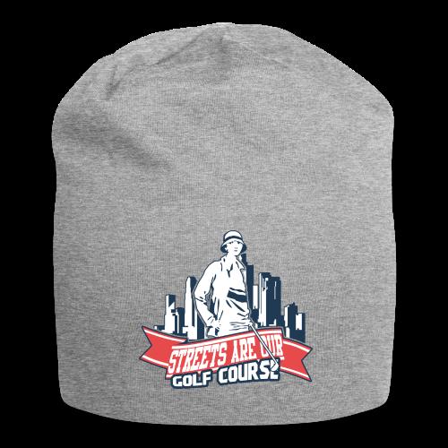 Vintage Golfer woman - Bonnet en jersey