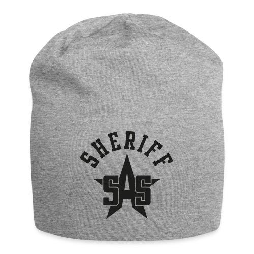 sas sheriff logo los print orig - Jersey-Beanie