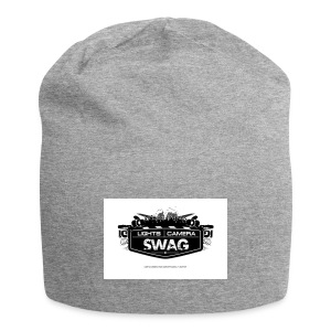 LOGO SWAG LIGHTS CAMERA - Beanie in jersey