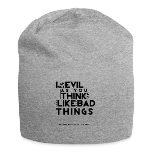 EVIL4x4-png - Beanie in jersey