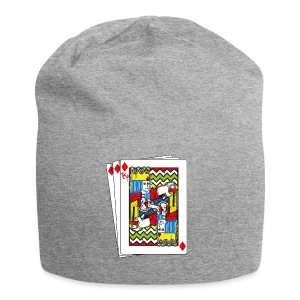 King Playing Card holding a Spraycan - Jersey-Beanie