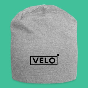 Velo Icon Blk - Long Sleeve Baseball Shirt W/N Clr - Jersey Beanie
