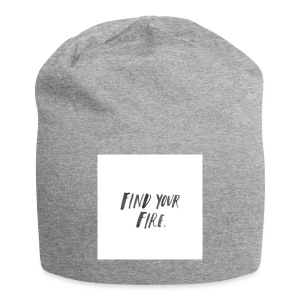 Find your Fire - Jersey Beanie
