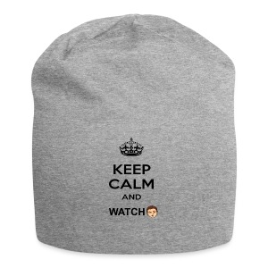 Keep Calm And Watch Anthonyos33 - Jersey Beanie