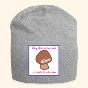 Soy Setamaniaco - Gorro holgado de tela de jersey