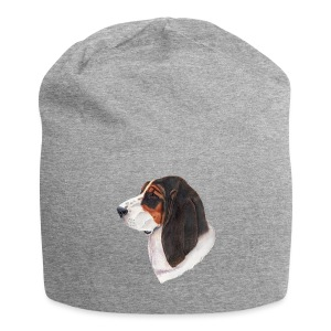 bassethound color - Jersey-Beanie
