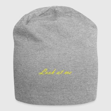 marca - Gorro holgado de tela de jersey