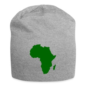 African styles green - Jersey Beanie