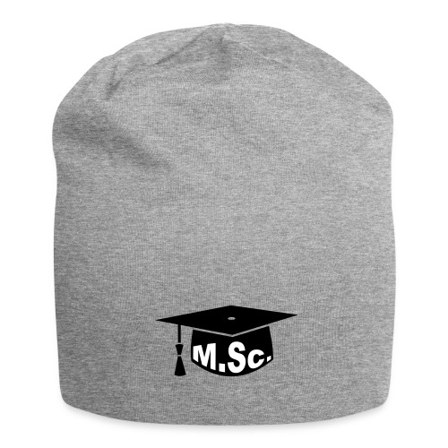 Doktorhut Master of Science M.Sc Doktorarbeit - Jersey-Beanie