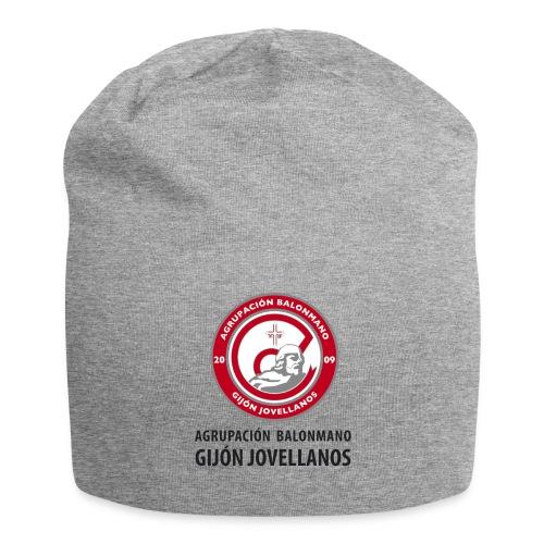 Escudo Gijón Jovellanos - Gorro holgado de tela de jersey