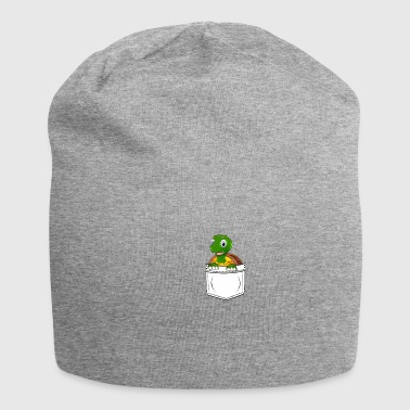 Turtle Reptiles Chest Bag Gift Kawaii - Jersey Beanie