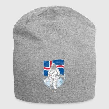 Island flag i rummet - Jersey-Beanie
