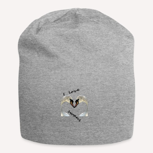 I love swans - Jersey-Beanie