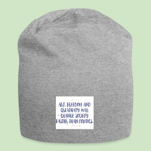 Art Quote - Jersey-Beanie