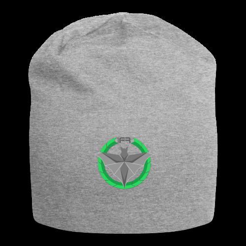 Logo 1FR Grand Noir - Bonnet en jersey