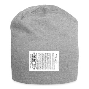 Irish proclamation - Jersey Beanie
