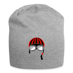 red_helmet-png - Beanie in jersey