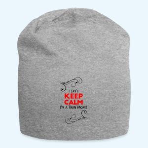 I Can't Keep Calm (voor lichte stof) - Jersey-Beanie