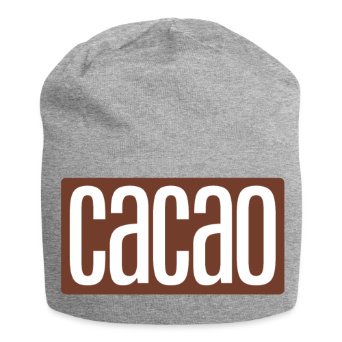 cacao - Jersey-Beanie
