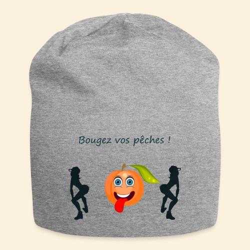 Bougez vos pêches ! - Bonnet en jersey