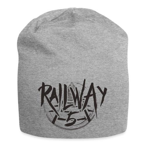 Railway 5 Logo Black - Jersey-Beanie