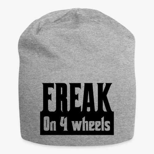 Gek op vier rolstoel wielen - Jersey-Beanie
