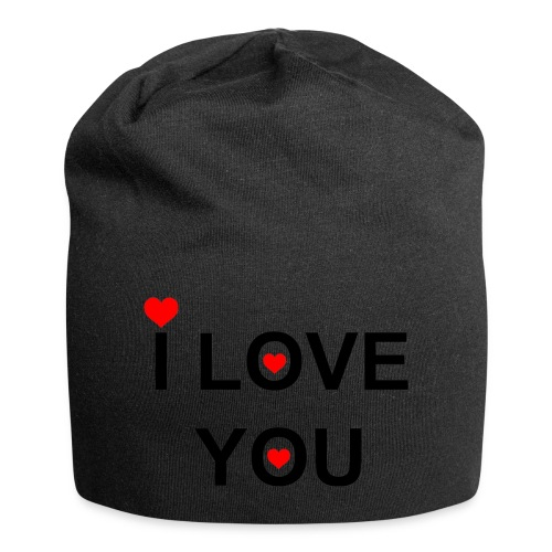 iloveyou - Jersey-Beanie