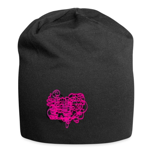 delicious pink - Jersey Beanie