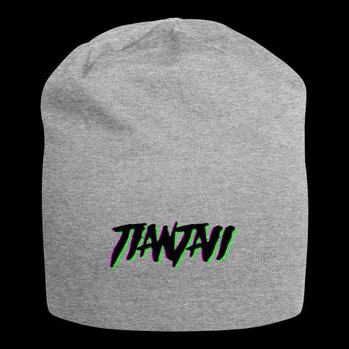 Logo Tiantaii - Gorro holgado de tela de jersey