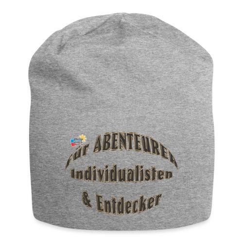 Abenteurer Individualisten & Entdecker - Jersey-Beanie
