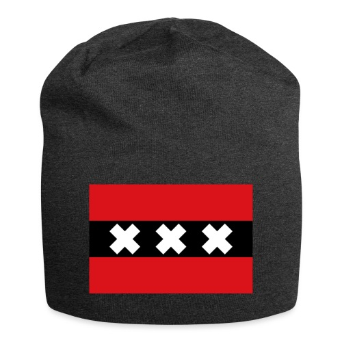 750px Flag of Amsterdam svg - Beanie in jersey