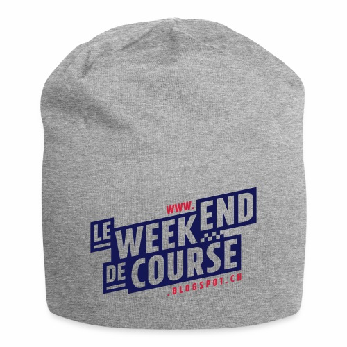 le week-end de course - Logo - Vert - Bonnet en jersey