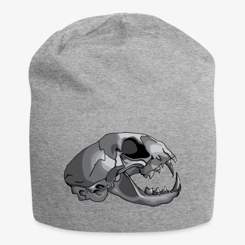 cat skull - Jersey Beanie