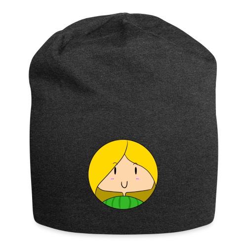 fille blonde - Bonnet en jersey