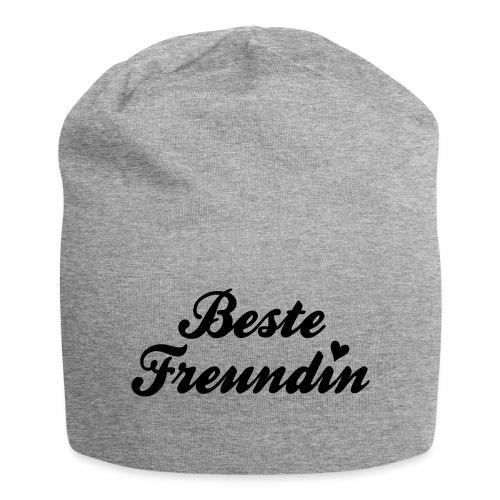 Beste Freundin - Jersey-Beanie