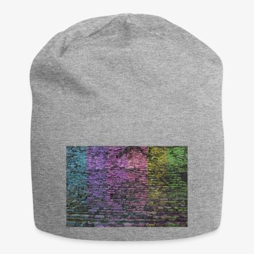 Regenbogenwand - Jersey-Beanie