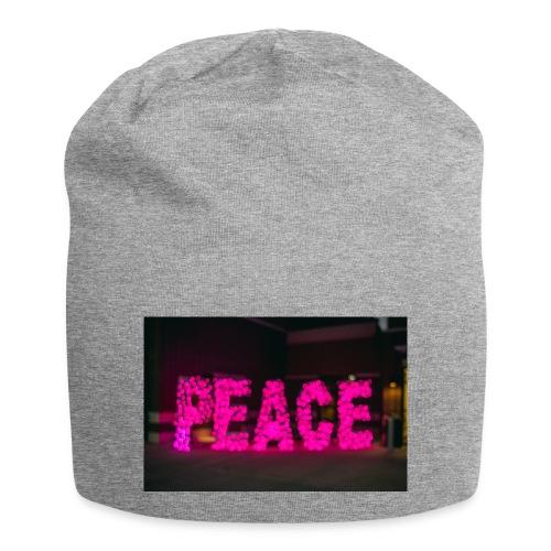 paz - Gorro holgado de tela de jersey