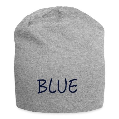 BLUE - Jersey-Beanie