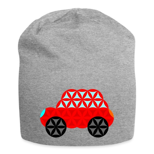 The Car Of Life - M01, Sacred Shapes, Red/R01. - Jersey Beanie